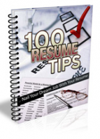 100 Resume Writing Tips