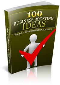 100 Business Boosting Ideas