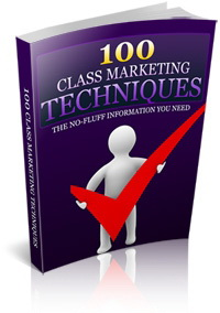 100 Class Marketing Techniques