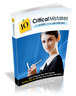 10 Critical Mistakes to Avoid of Job Interview