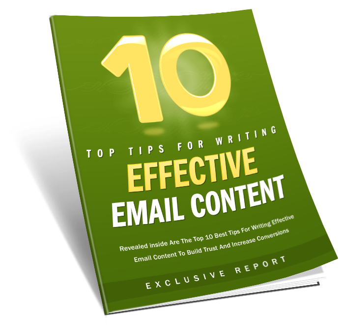 10 Tips Effect Email Content ( FREE )