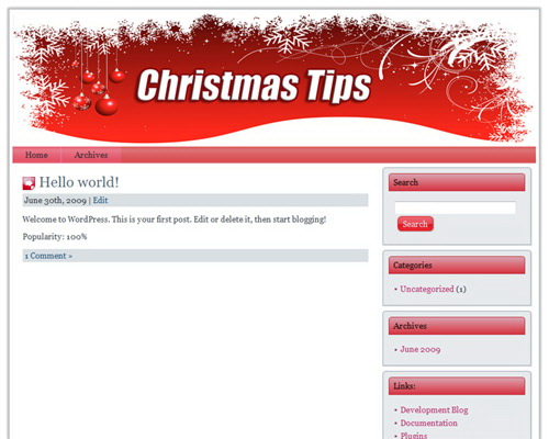 12 Christmas Niche Wordpress Themes Pack