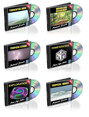 12 Nature Sounds MP3 Pack + Bonus Sound (pack 1)