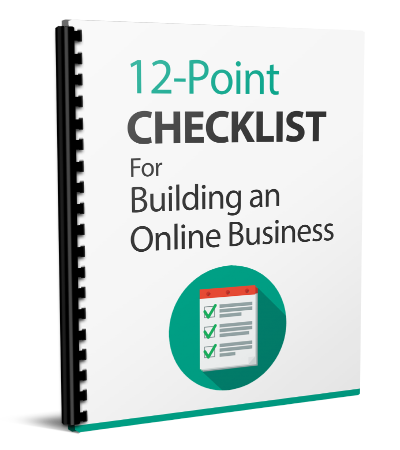 12 Point Checklist for Building Onlien Business ( FREE )
