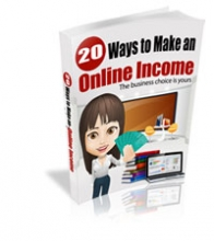 20 Ways to Make Online Income