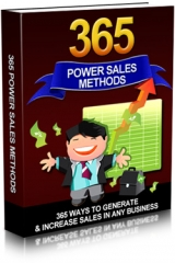 365 Power Sales Methods