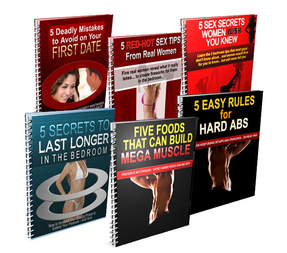 6 Red Hot PLR eBook Pack (sex & adults interests)
