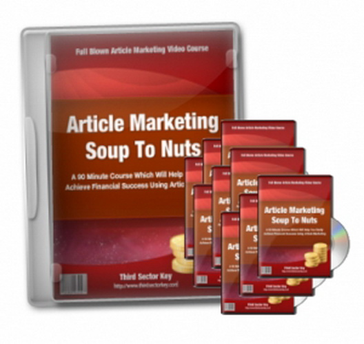 Article Marketing Soup To Nuts Videos