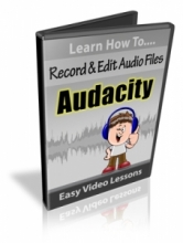 Audacity Record And Edit Audio Files (videos)