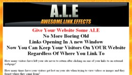 Awesome Link Effects (WebsiteALE) - Script