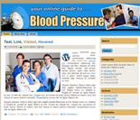 Blood Pressure WP & HTML Templates