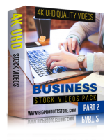Business 4K UHD Stock Video Footage Pack 1