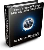 Clone Your WordPress Blog Manually Under 10 Minutes
