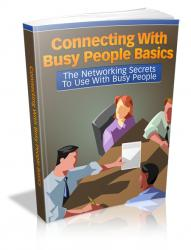 Connecting With Busy People Basics