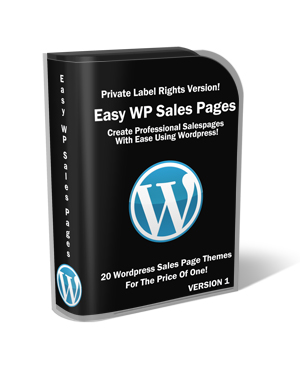 Easy WordPress Sales Page