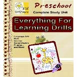 Everything for Learning Drills Preschool
