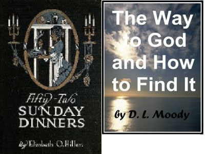 Fifty-Two Sunday Dinners +The Way To God And How To Find It