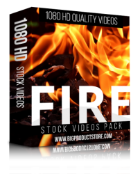Fire 1080 HD Stock Videos