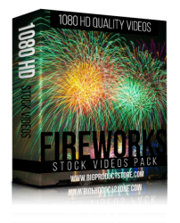 Fireworks 1080 HD Stock Videos