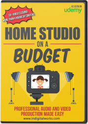 Home Studio On The Budget ( Audios & Videos ) 1.6 GB