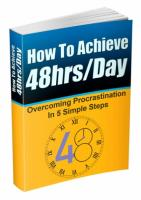 How To Achieve 48 hrs / Day