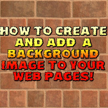 Add A Background Image To Your Website