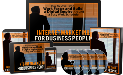 Internet Marketing Business People - Videos + Audios