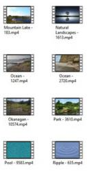 Lakes And Water 4K UHD Video Footage - pack 1