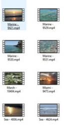Lakes And Water 4K UHD Video Footage - pack 2