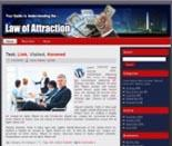 Law Of Attraction WP HTML Templates