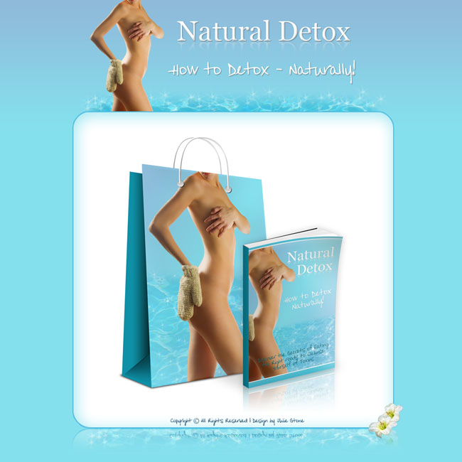 Natural Detox Theme and eBook