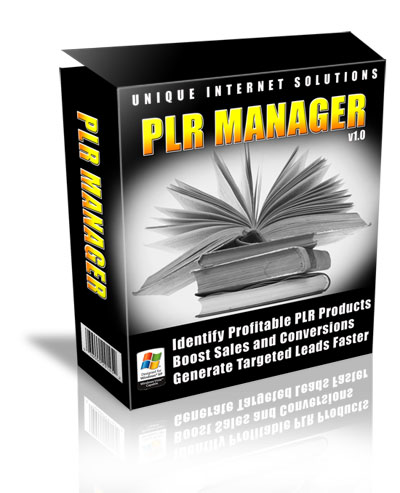 PLR Manager Software