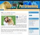 Pet Grooming WP HTML Templates #1209