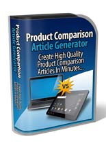 Product Comparison Article Generator (Software)