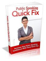 Public Speaking Quick Fix
