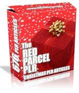 Red Parcel PLR for Christmas