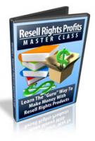 Resell Rights Profits Master Class