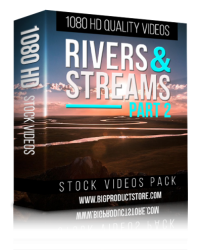 Rivers & Streams 1080 HD Stock Videos Pack 1 ( Video Footage )