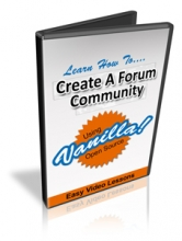 Set Up A Forum Community Using Vanilla (video)