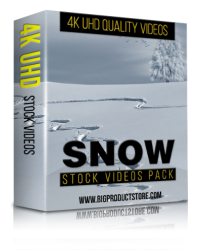 Snow 4K UHD Stock Videos