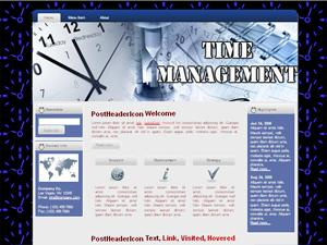 Time Management HTML & Wordpress Themes