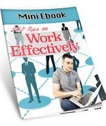 202 Tips To Work Effectively ( FREE )
