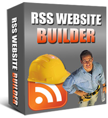 RSS Website Builder