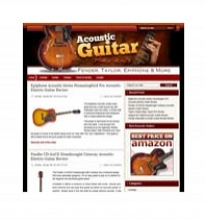 Acoustic Guitar Niche Blog