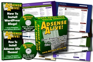 Adsense Alive! (30 Adsense Themes for WP)