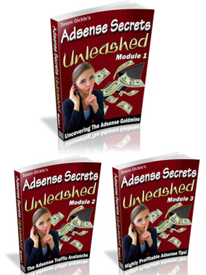 Adsense Secrets Unleashed - Jason Qickle's