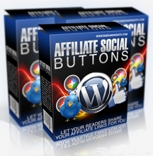 Affiliate Social Buttons Plugin for Wordpress