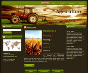 Agriculture Tractor Templates