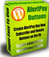 Alertpay Button Generator Plugin for Wordpress