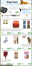 Amazon Dog Store Theme for Wordpress